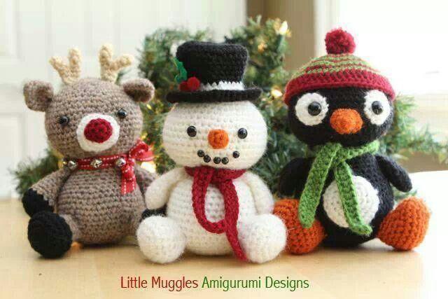 Amigurumis Navideños Patrones Gratis : Pin de annamária ormándi en chrochet karácsony pinterest