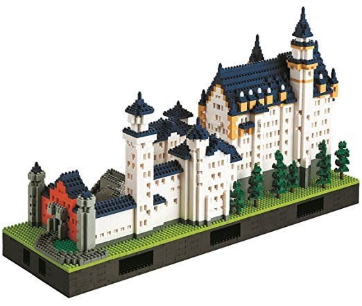 Nanoblock Neuschwanstein Castle Deluxe Edition Set By Kawada Neuschwanstein Castle Lego Architecture Lego Castle