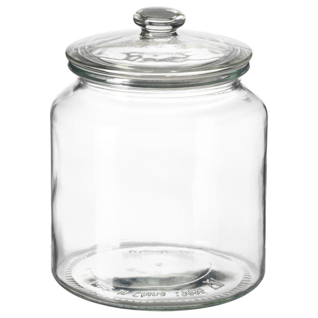 VARDAGEN - IKEA  Ikea jars, Glass jars with lids, Kitchen jars