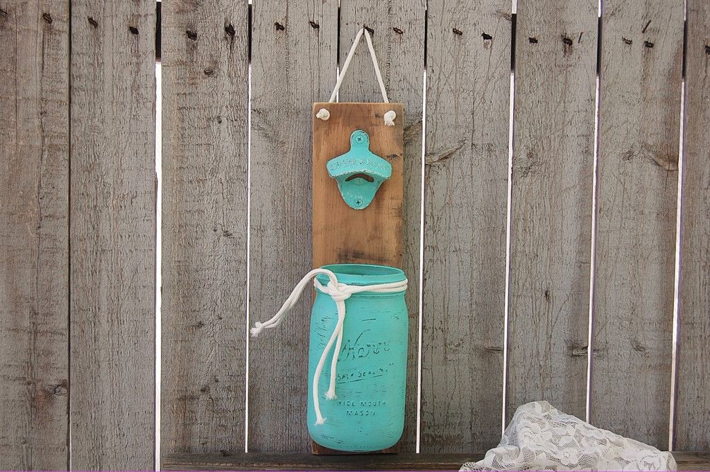 Mason jar bottle opener