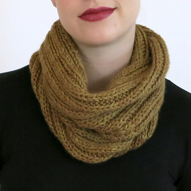 Photo of Double Wrap Cowl pattern by Julie Weisenberger