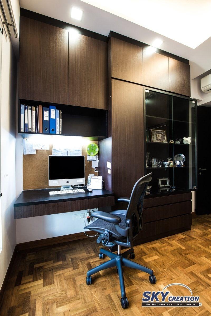 Condominium Study Room: Dutchess Ave, Contemporary Condominium Interior Design