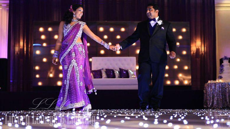 unique wedding dance floor rental starlit dance floor by luxury