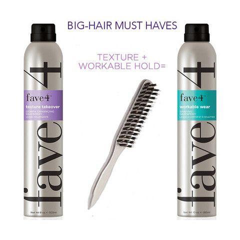 Big-Hair Must Haves