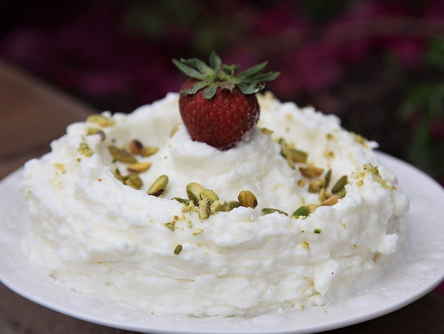 Kashta recipeقشطة Desserts Lebanese desserts Dessert recipes