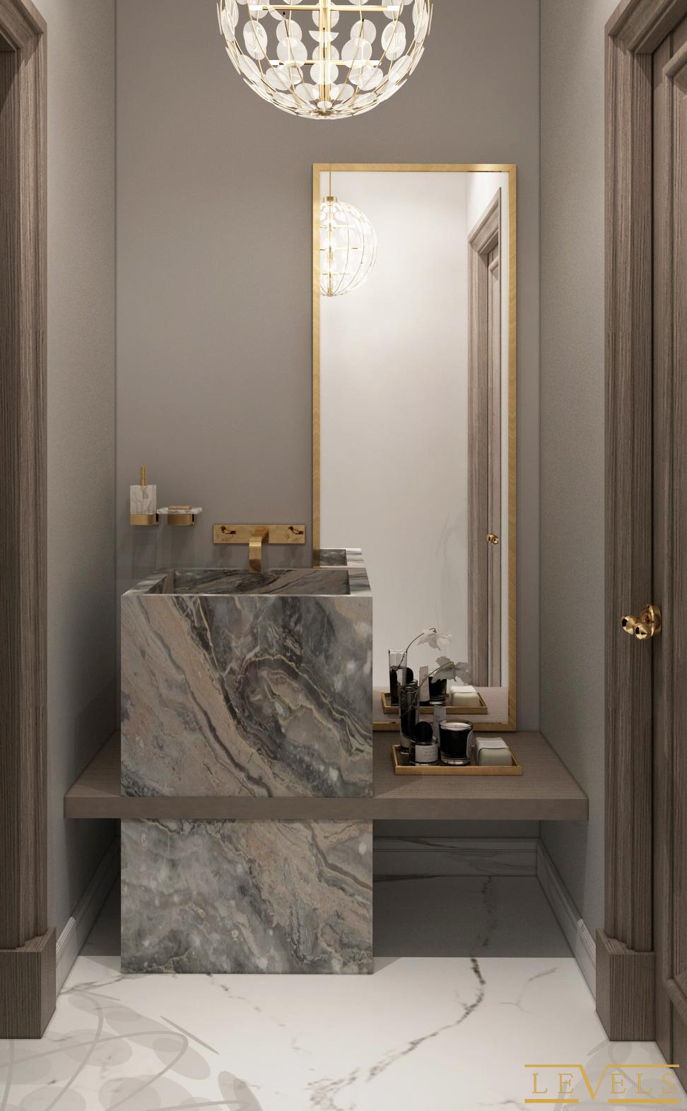 Palm Hills Guest Toilet On Behance Guest Guest Bathroom Ideas Elegant Guest Bathroom Ide In 2020 Washroom Design Modern Bathrooms Interior Toilet Design Modern