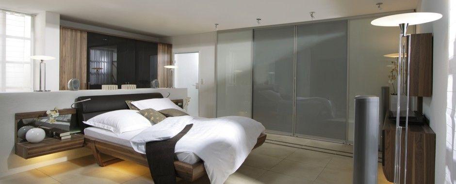 Inova Schiebetür Systeme Fungieren Ideal Im #Schlafzimmer Als Raumteiler Zu  #Bad #Fitnessraum