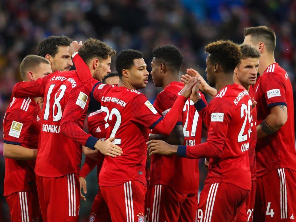 41Sieg gegen Stuttgart Trotz DonisTraumtor Die