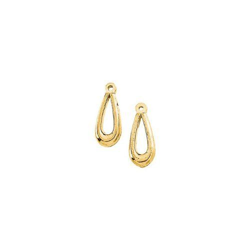 793 14KY Gold 12X6mm Semi-Polished Earring Jacket Enlightened Expressions. $47.88. CH971 14K Yellow 16.00 INCH Polished WHEAT CHAIN
