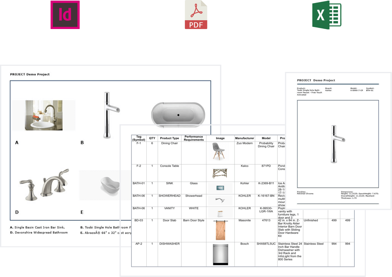 Fohlio Architecture & Interior Design FF&E Specification Software