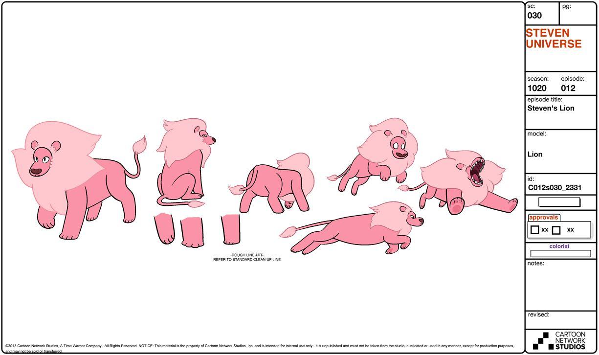 Steven universe cartoon network studios blog for Design reference sites