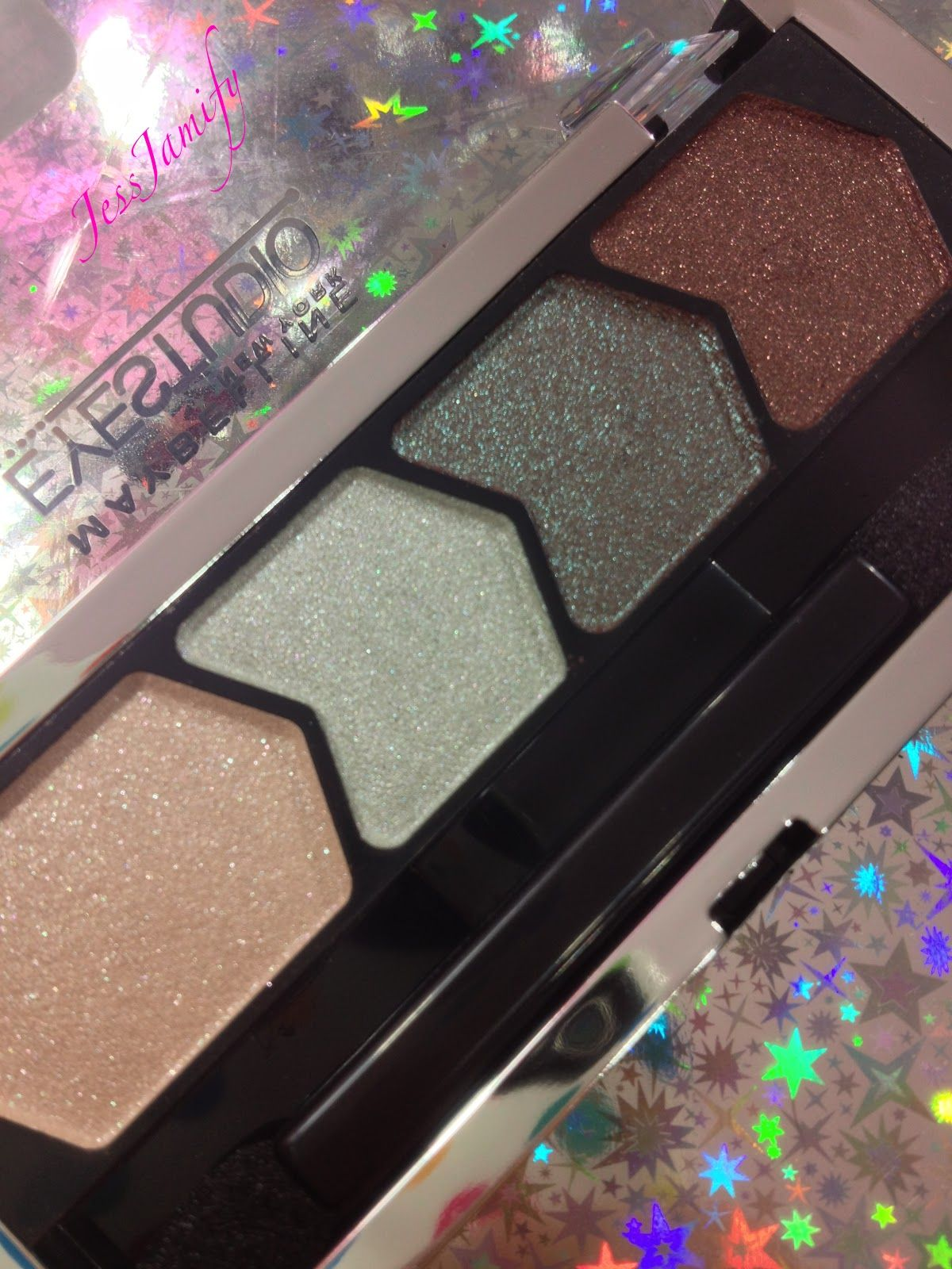 maybelline eyeshadow quad in olive martini great dupe for