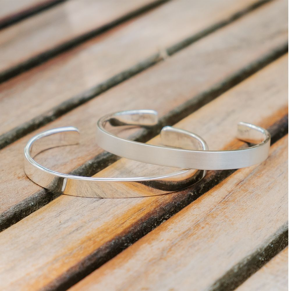 Bracelet sterling brushed dci bracelets gram oz of