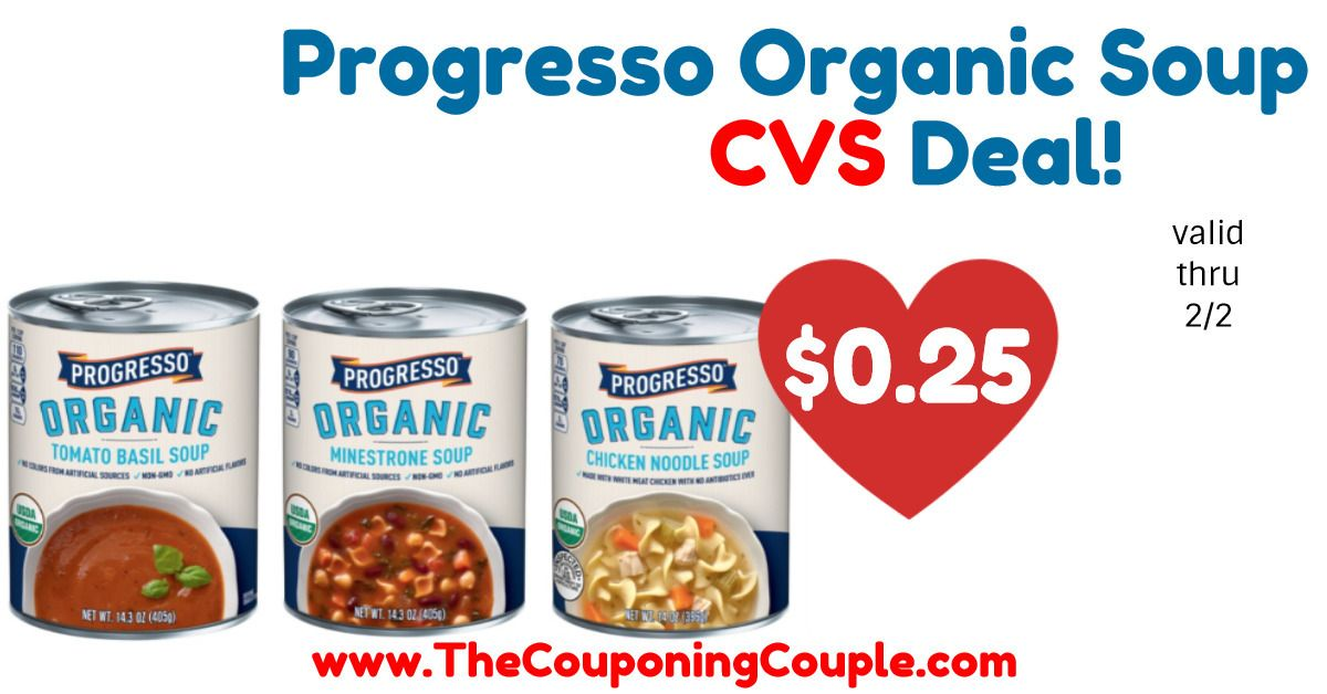 photograph about Printable Progresso Soup Coupons identified as Refreshing* $0.75/1 Progresso Natural and organic Soup Printable Coupon + CVS