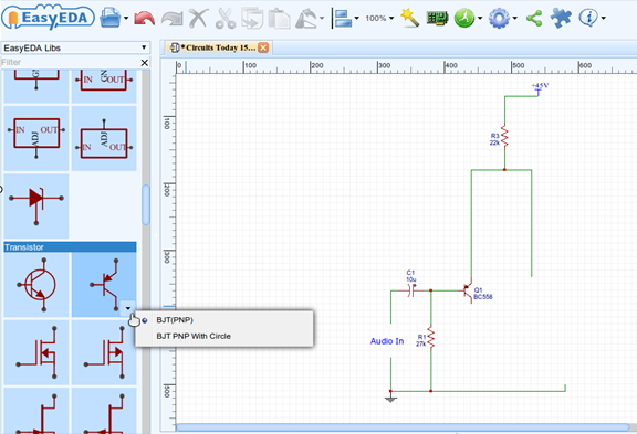 Learn how to draw circuit diagram,pcb layout and simulate electronic ...