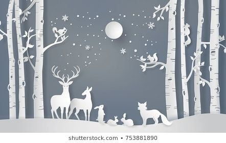Photo of Winter Snow Urban Countryside Landscape City Stock Vector (Royalty Free) 522579406
