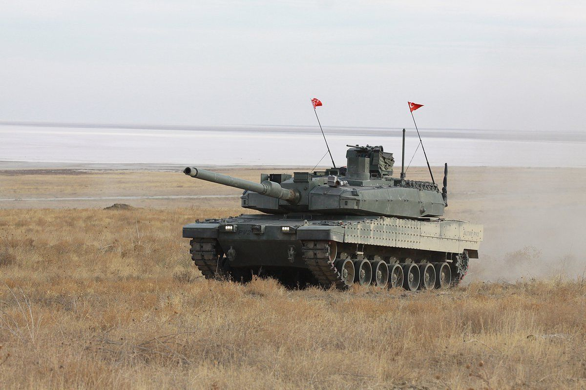 Altay Mbt Turkish Soldiers Military Vehicles Military