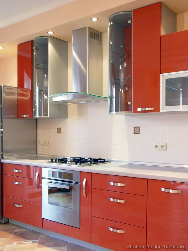 Orange Kitchen Cabinets Orange Kitchen Cabinets 1000 Images About Kitchens Modern Tones Retro