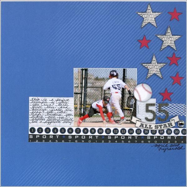 #55 All Star - Teresa Collins