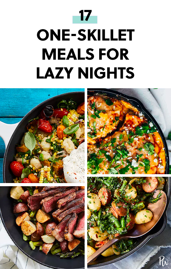 17 One-Skillet Meals for Lazy Nights images
