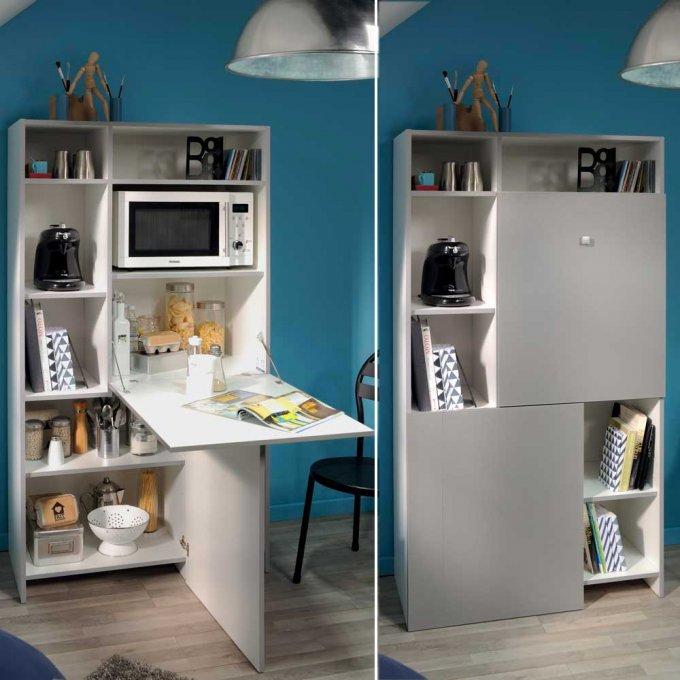 20 Meubles Ultra Malins Pour Gagner De La Place Meuble Gain De Place Meuble Cuisine Mobilier De Salon