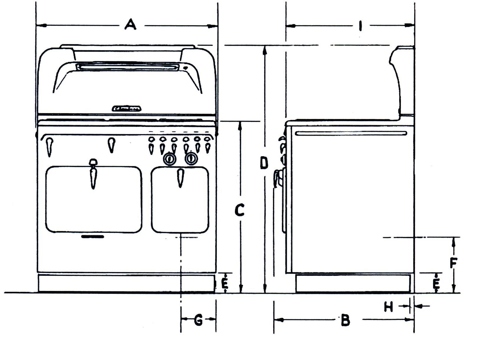 Measurements For Chambers Range