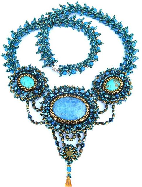 Night at the Opera necklace by Cielo Design, via Flickr