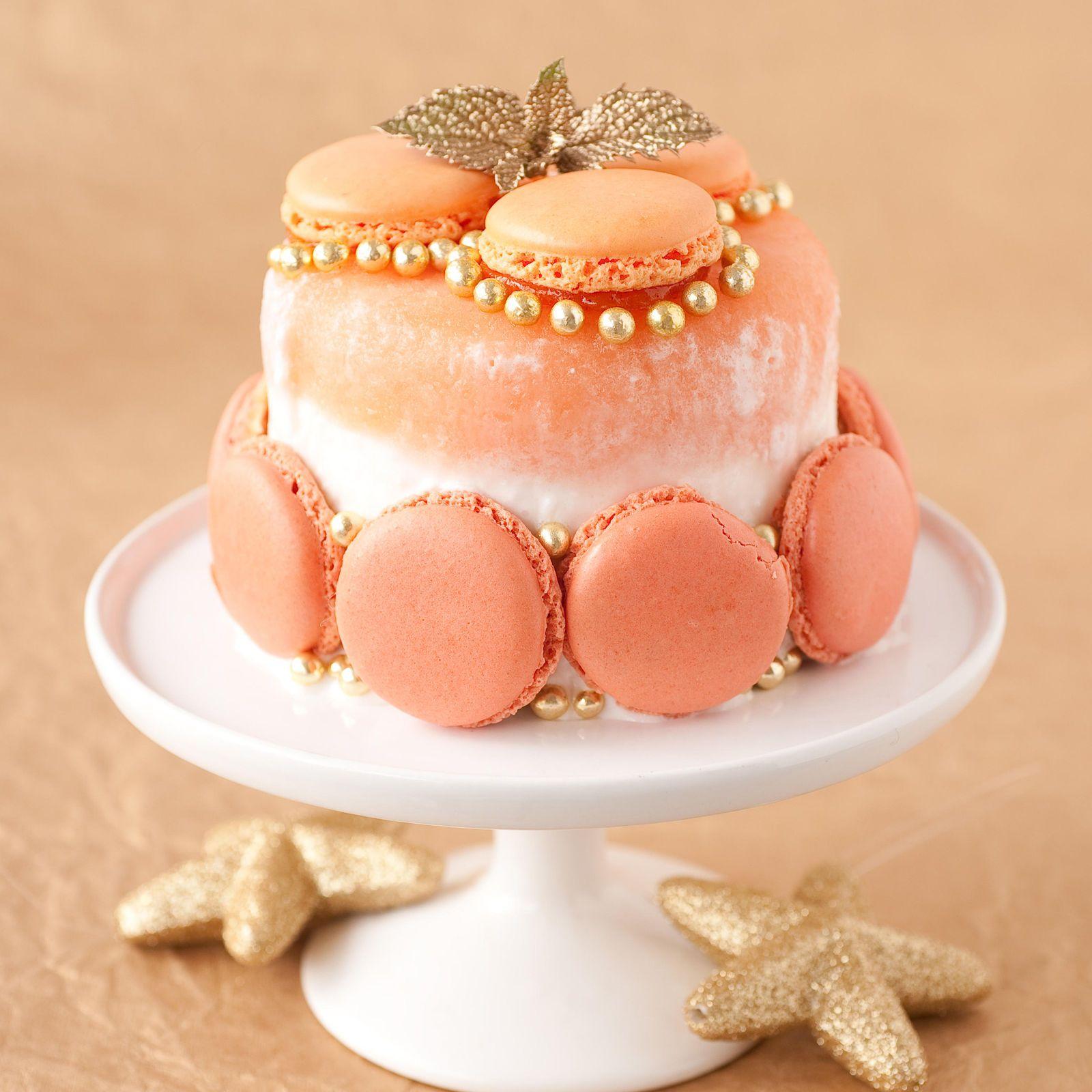 gateau glacé aux macarons recette gâteau glacé les macarons