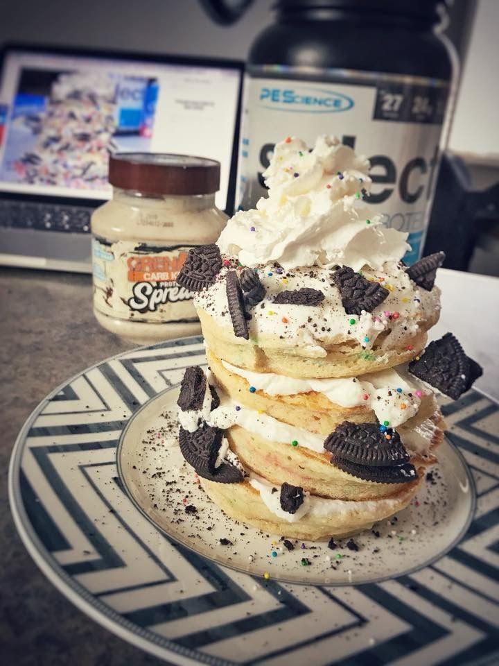 40g kodiak cakes or whatever you use for pancake mix 1