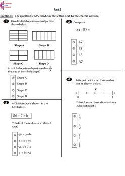 graphic regarding 3rd Grade Assessment Test Printable identified as Pin upon 3rd Quality Preferred Main Worksheets