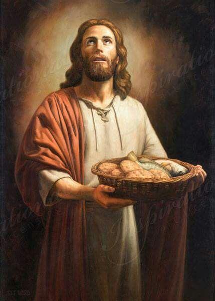 5 loaves,& 2 fish,