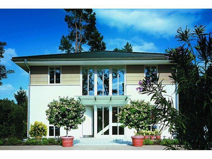 stadtvilla kleinmachnow einfamilienhaus von haacke haus gmbh co kg hausxxl fertighaus. Black Bedroom Furniture Sets. Home Design Ideas