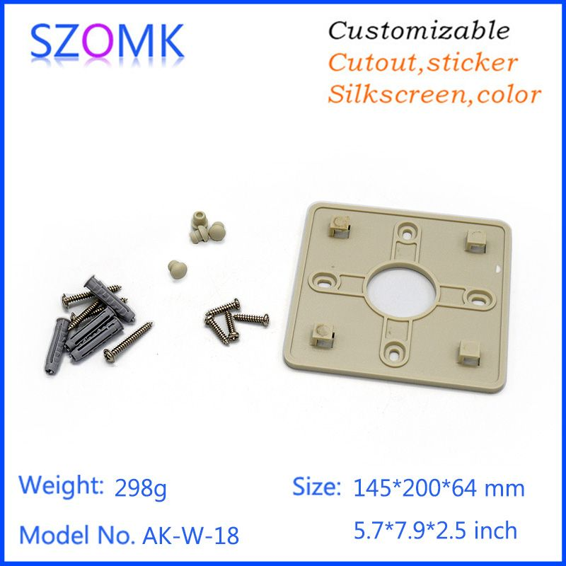 one piece szomk High quality abs material plastic wall