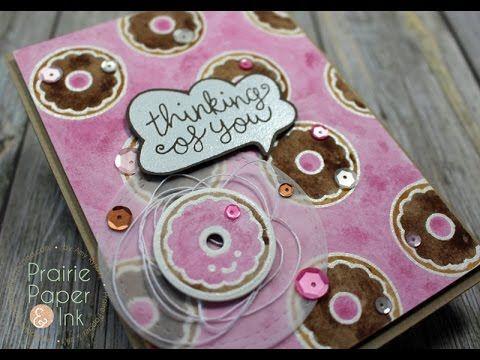 Lawn Fawn Donut Worry Take 2 Sakura Koi Watercolors Greeting Cards Handmade Sakura Koi Watercolor Greeting Card Inspiration