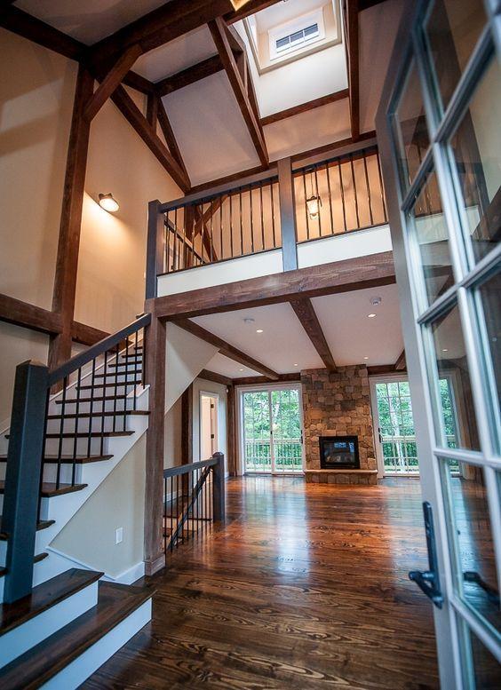Beautiful Log Home Living Room Furniture. Yankee Barn ...