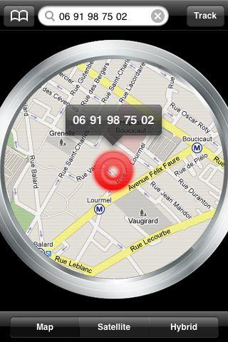 IPhone App Track Location Phone Number