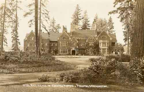"I originally found the image through one of my FB pages, but I can't recall which, so I looked it up - "" The Ghosts of Thornewood "" ..  http://www.legendsofamerica.com/wa-thornewoodcastle.html"