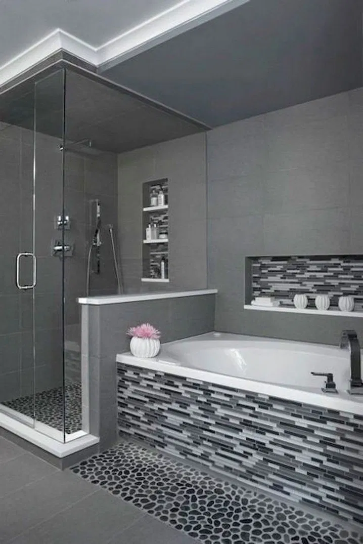 ✔9 best small bathroom remodel ideas on a budget 2 #bathroomtileshowers