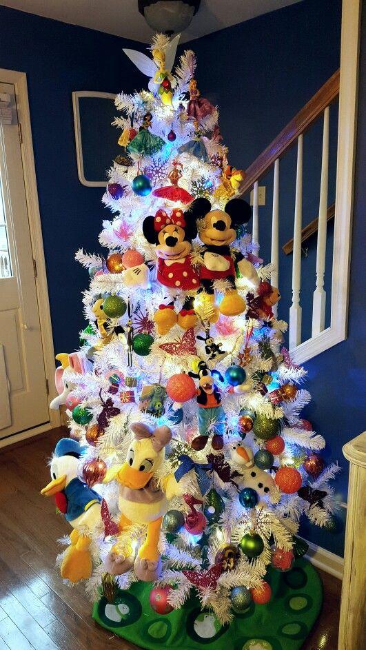 Disney christmas tree. Christmas tree ideas. Disney