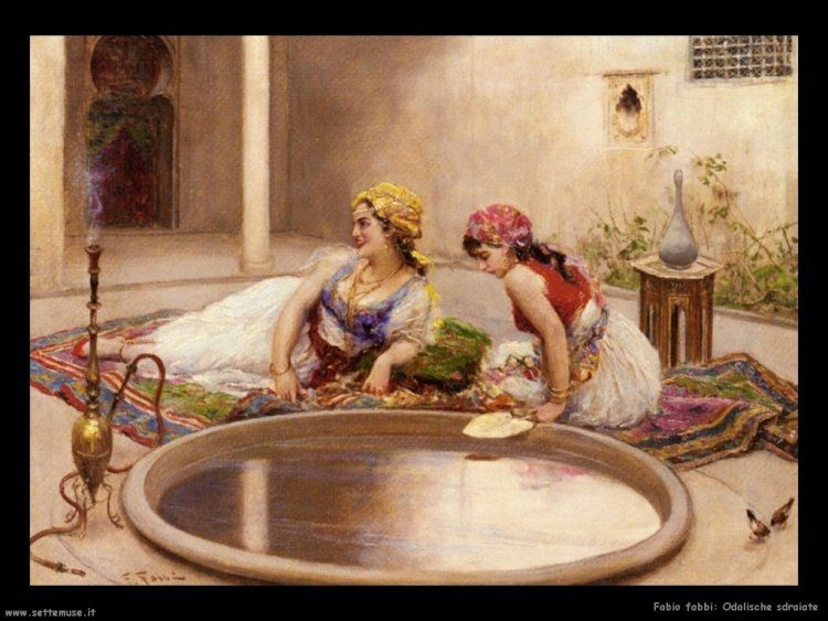 il cortile  http://www.taus.it/images2/orientalism_cortile.jpg