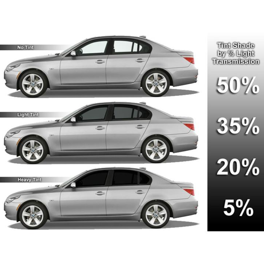 What Percent Should I Get Tinted Windows Tinted Windows Car Window Tint Film