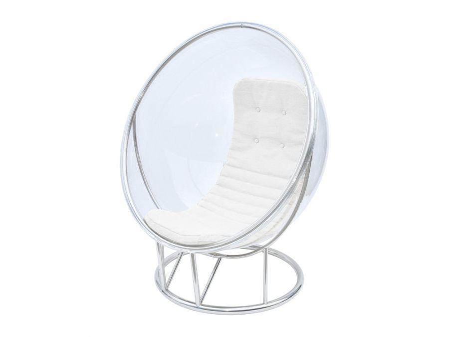 Indigo Living Kelly Hoppen Bubble Chair W/White Leather