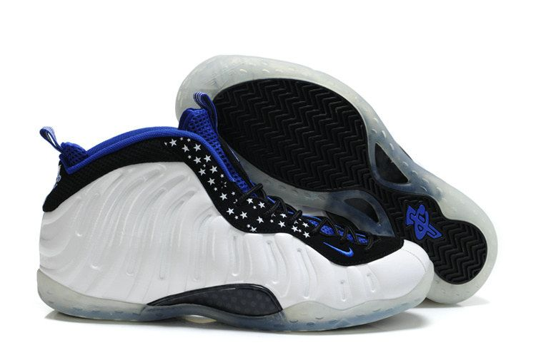Nike Air foamposite One Shooting Stars PE White Black