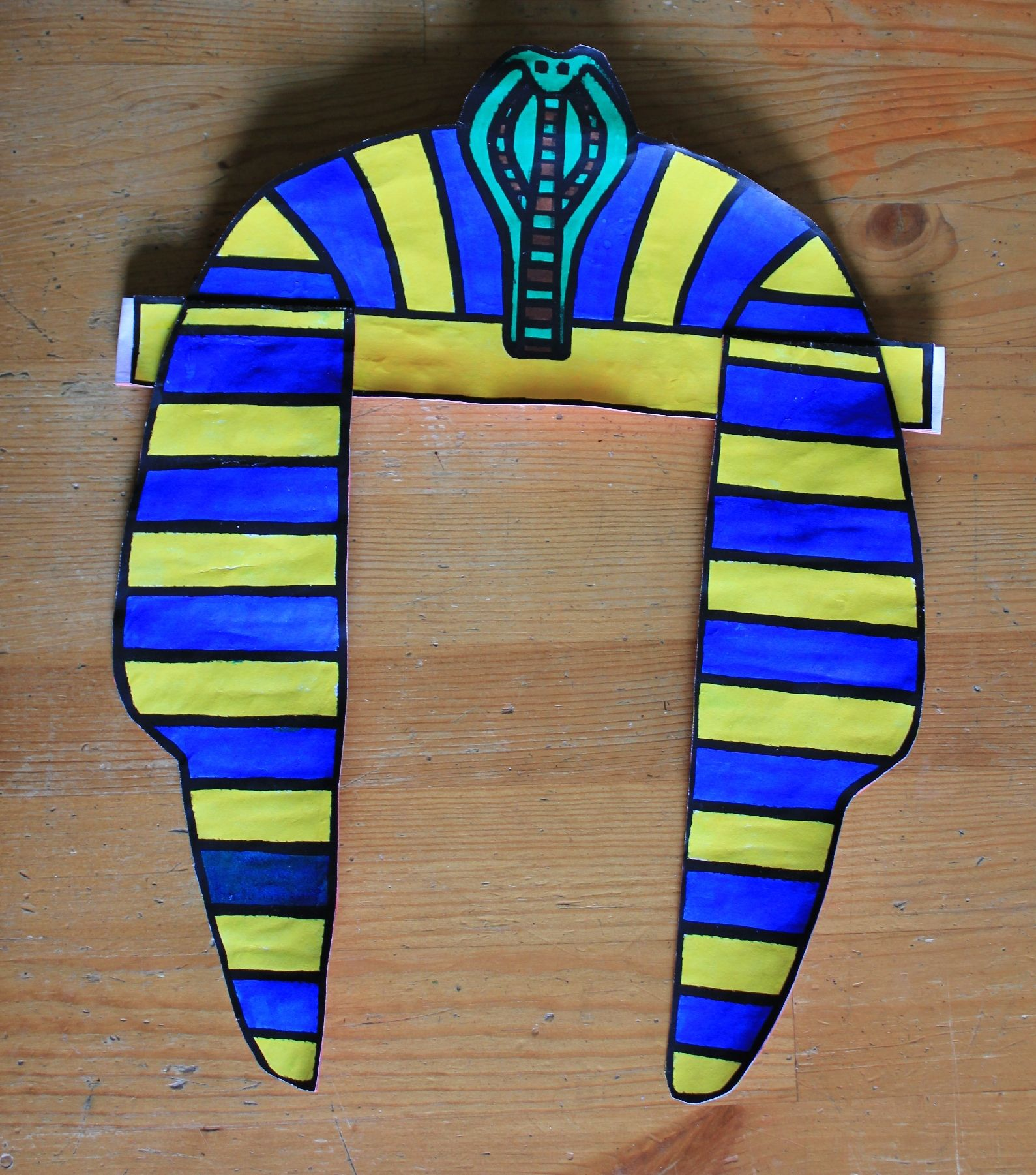 Pharaohs Head Dress