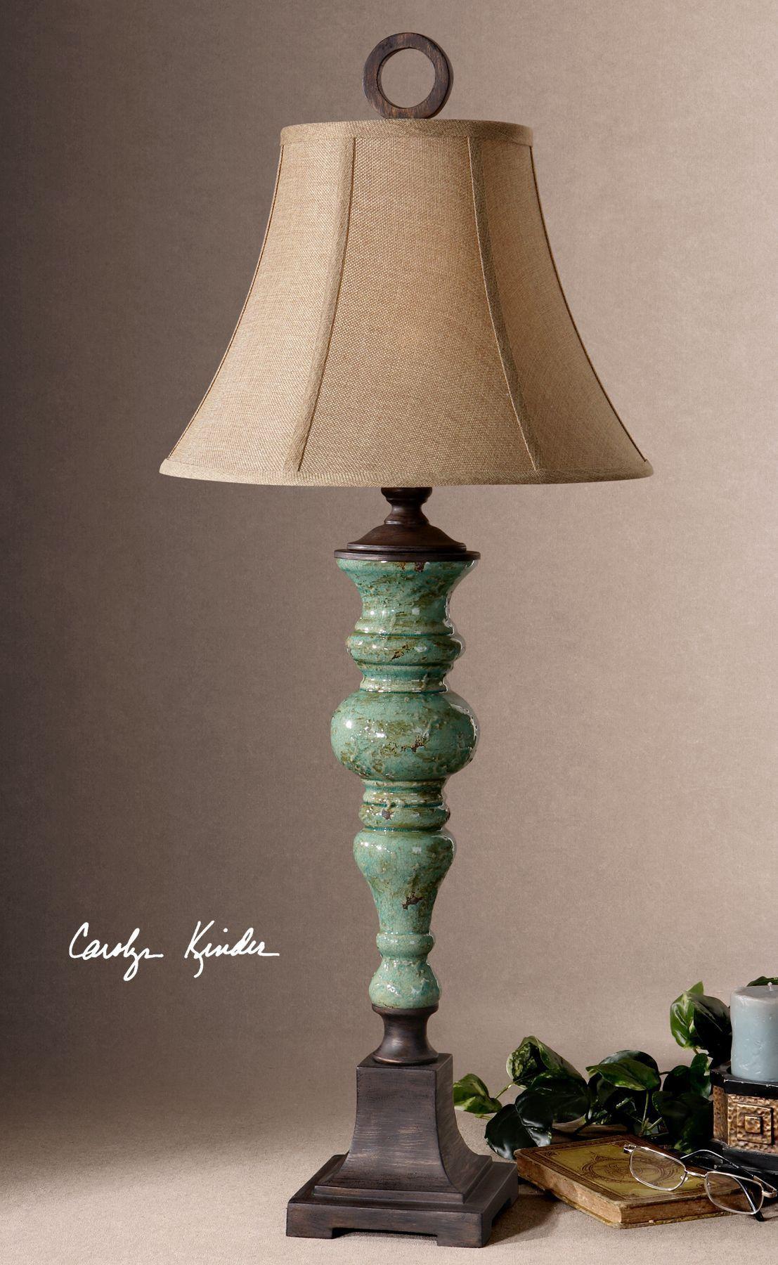 Unglaublich Moderne Tischlampen Dekoration Von Bettona Aqua Blue Table Lamp