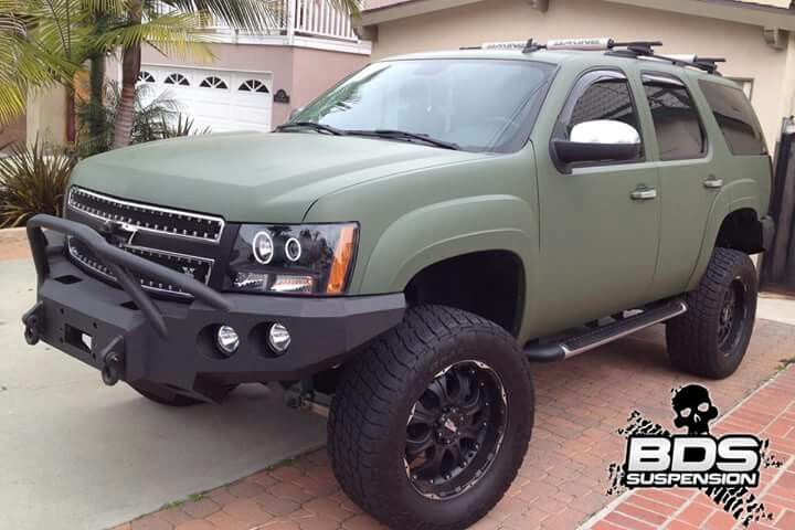 Chevrolet Tahoe Lifted Blazers And Tahoes Pinterest