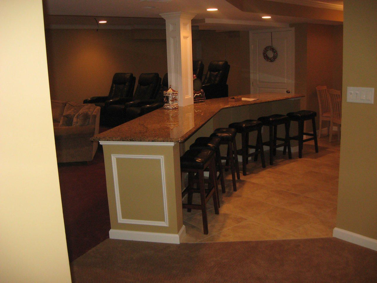 Home Theater Bar Counter Home Theater Dream Home Pinterest