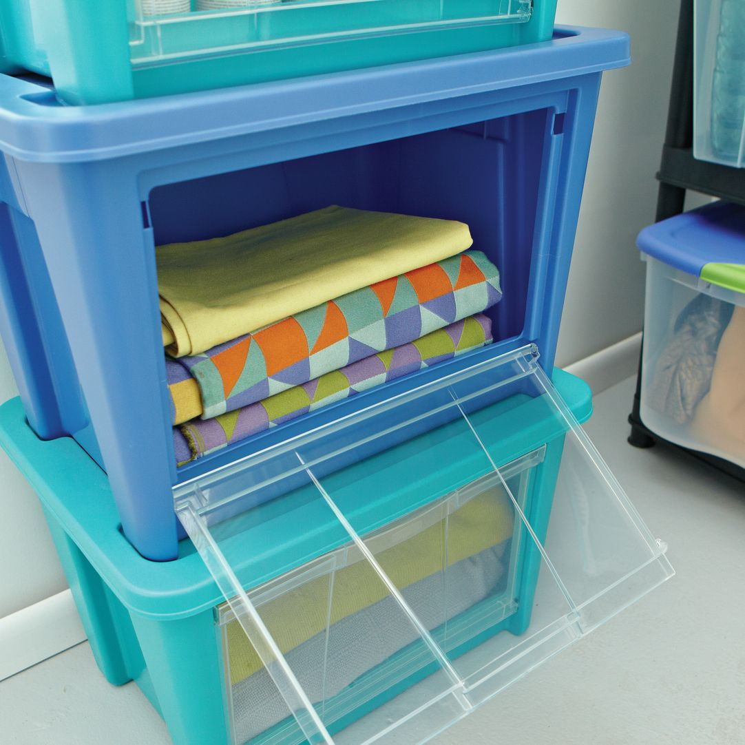 These Storage Bins Are Totes Perfect For Baby Supplies Best Part Access Pool Organizationcloset Organization