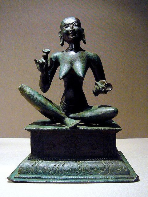 Seated Shaivite Saint Karaikkal Ammaiyar | South asian art ...