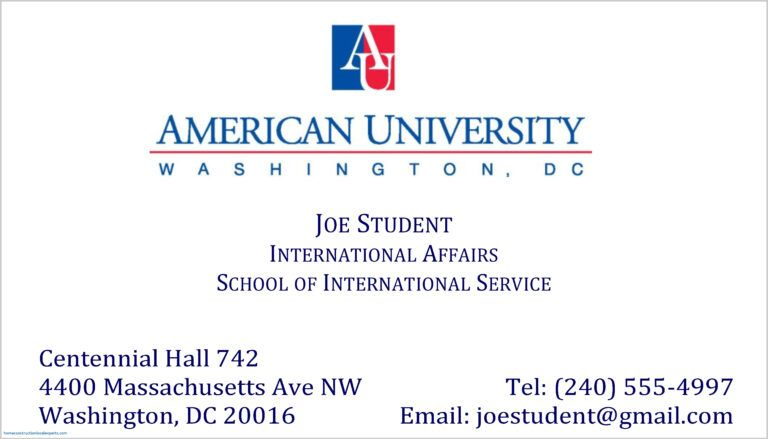 Graduate Business Cards Letters College Student Card Example In Graduate Student Business Sample Business Cards Student Business Cards Printing Business Cards